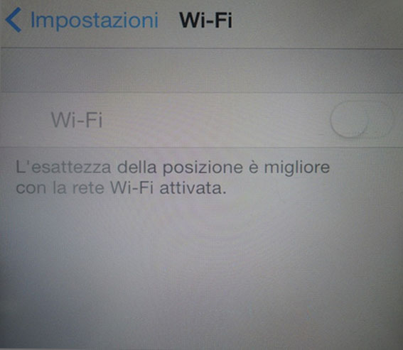 iPhone 4 wifi grigio